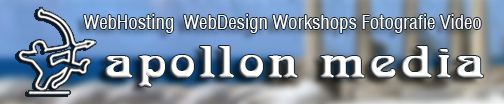 apollon-media == Webdesign, Webhosting, Workshops